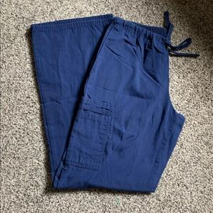 XS Small Navy Blue Scrub Pants